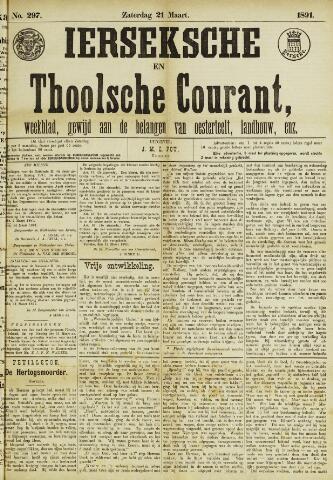 Ierseksche en Thoolsche Courant 1891-03-21