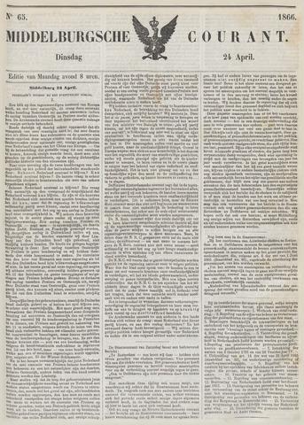 Middelburgsche Courant 1866-04-24