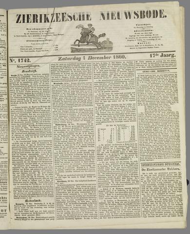 Zierikzeesche Nieuwsbode 1860-12-01