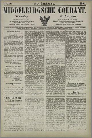 Middelburgsche Courant 1884-08-20