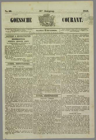 Goessche Courant 1854-09-04