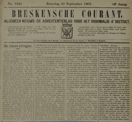 Breskensche Courant 1907-09-21