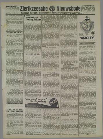 Zierikzeesche Nieuwsbode 1934-11-05