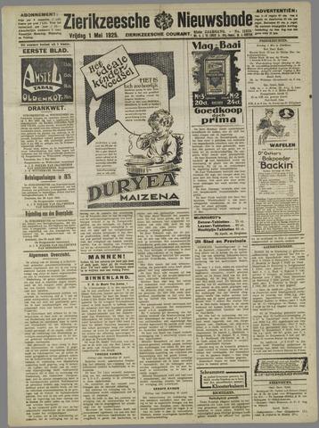 Zierikzeesche Nieuwsbode 1925-05-01