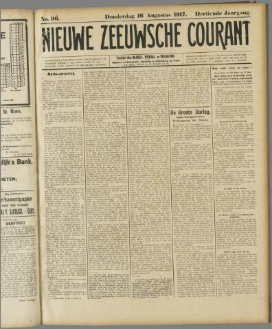 Nieuwe Zeeuwsche Courant 1917-08-16