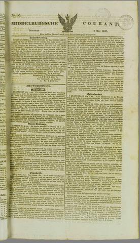 Middelburgsche Courant 1837-05-09