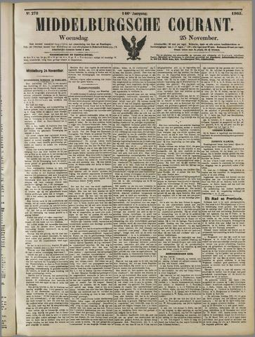 Middelburgsche Courant 1903-11-25