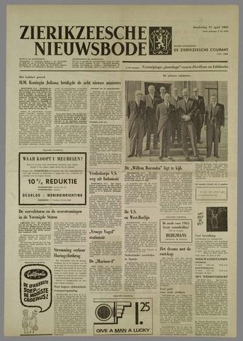 Zierikzeesche Nieuwsbode 1965-04-15