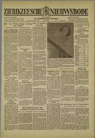Zierikzeesche Nieuwsbode 1952-08-04