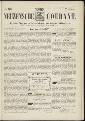 Ter Neuzensche Courant. Algemeen Nieuws- en Advertentieblad voor Zeeuwsch-Vlaanderen / Neuzensche Courant ... (idem) / (Algemeen) nieuws en advertentieblad voor Zeeuwsch-Vlaanderen 1877-05-12