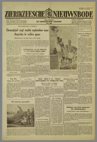 Zierikzeesche Nieuwsbode 1959-08-06