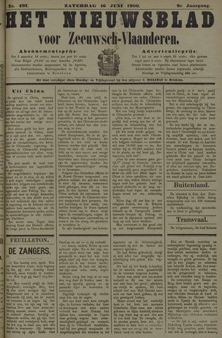 Nieuwsblad voor Zeeuwsch-Vlaanderen 1900-06-16