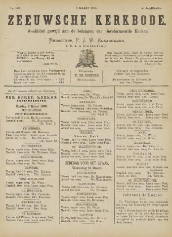 Zeeuwsche kerkbode, weekblad gewijd aan de belangen der gereformeerde kerken/ Zeeuwsch kerkblad 1890-03-08