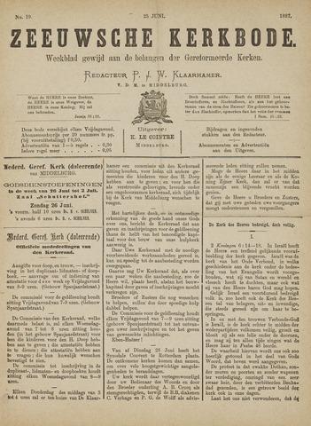 Zeeuwsche kerkbode, weekblad gewijd aan de belangen der gereformeerde kerken/ Zeeuwsch kerkblad 1887-06-25