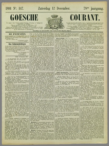 Goessche Courant 1891-12-12
