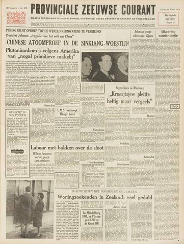 Provinciale Zeeuwse Courant 1964-10-17