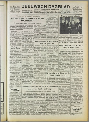 Zeeuwsch Dagblad 1952-03-10