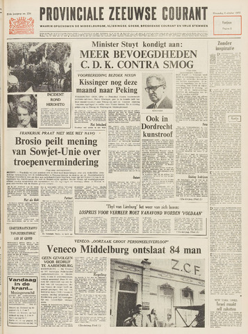 Provinciale Zeeuwse Courant 1971-10-06