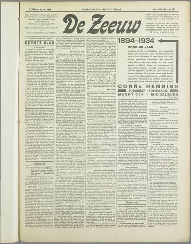De Zeeuw. Christelijk-historisch nieuwsblad voor Zeeland 1934-07-28