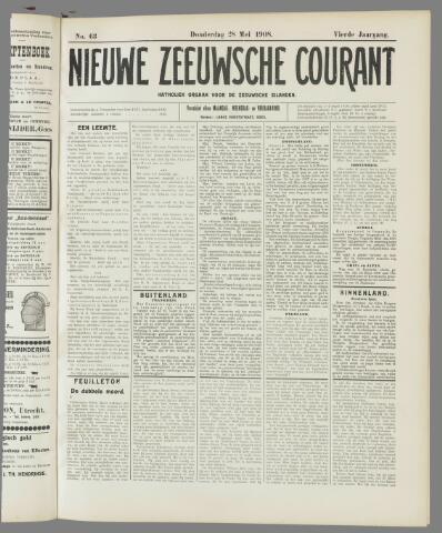 Nieuwe Zeeuwsche Courant 1908-05-28