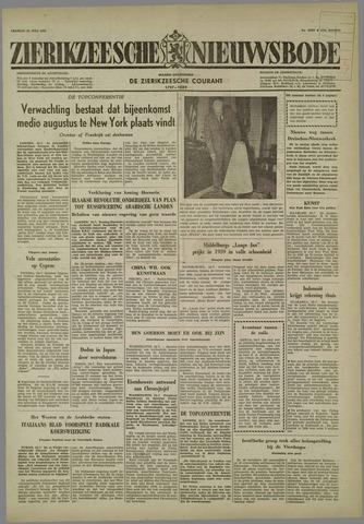 Zierikzeesche Nieuwsbode 1958-07-25