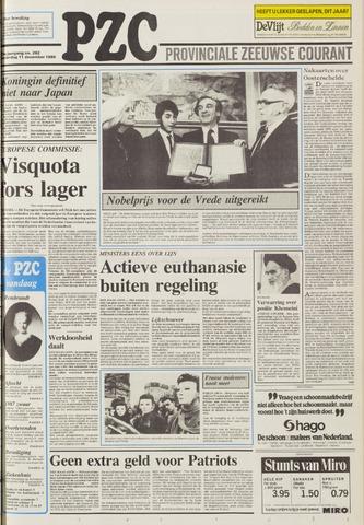 Provinciale Zeeuwse Courant 1986-12-11