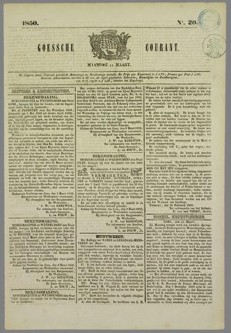 Goessche Courant 1850-03-11