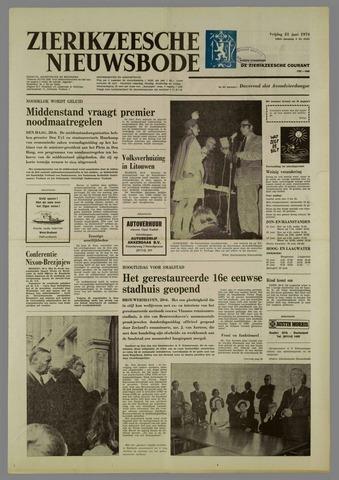 Zierikzeesche Nieuwsbode 1974-06-21