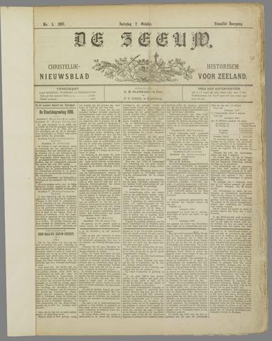 De Zeeuw. Christelijk-historisch nieuwsblad voor Zeeland 1897-10-02