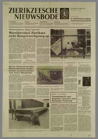 Zierikzeesche Nieuwsbode 1985-04-18