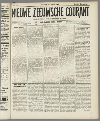 Nieuwe Zeeuwsche Courant 1907-04-16