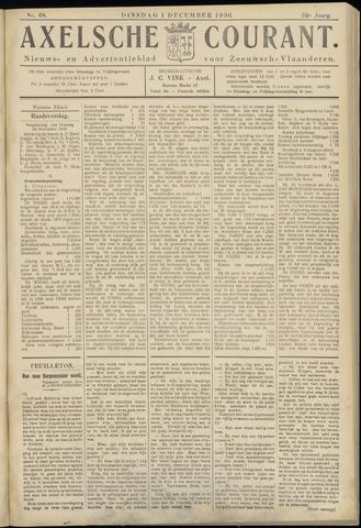 Axelsche Courant 1936-12-01