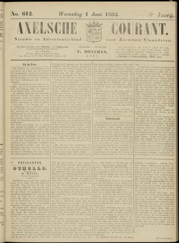 Axelsche Courant 1892-06-01