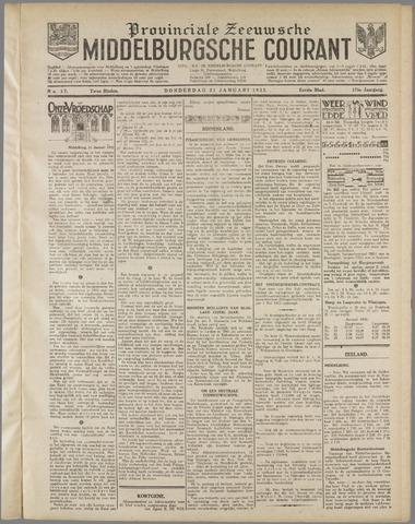 Middelburgsche Courant 1932-01-21