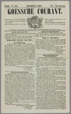 Goessche Courant 1864-05-09