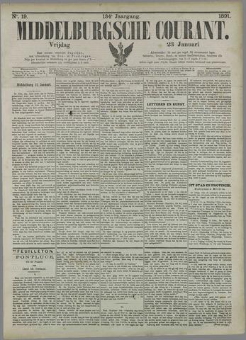 Middelburgsche Courant 1891-01-23