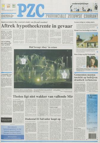 Provinciale Zeeuwse Courant 2001-01-16
