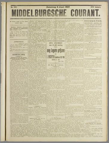 Middelburgsche Courant 1927-06-04