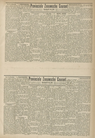 Provinciale Zeeuwse Courant 1945-07-30