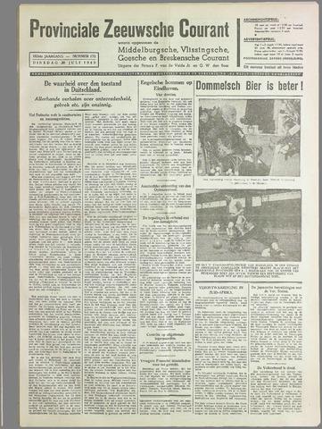 Provinciale Zeeuwse Courant 1940-07-30