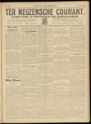 Ter Neuzensche Courant. Algemeen Nieuws- en Advertentieblad voor Zeeuwsch-Vlaanderen / Neuzensche Courant ... (idem) / (Algemeen) nieuws en advertentieblad voor Zeeuwsch-Vlaanderen 1933-11-01