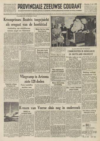 Provinciale Zeeuwse Courant 1956-07-02