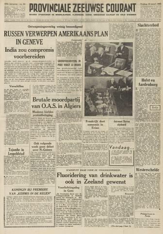Provinciale Zeeuwse Courant 1962-03-16