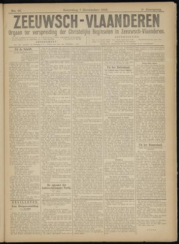 Luctor et Emergo. Antirevolutionair nieuws- en advertentieblad voor Zeeland / Zeeuwsch-Vlaanderen. Orgaan ter verspreiding van de christelijke beginselen in Zeeuwsch-Vlaanderen 1918-12-07