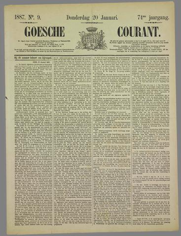 Goessche Courant 1887-01-20
