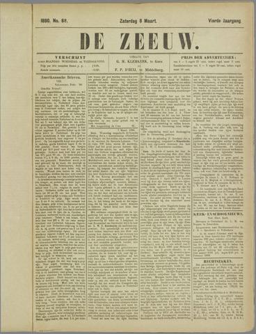 De Zeeuw. Christelijk-historisch nieuwsblad voor Zeeland 1890-03-08