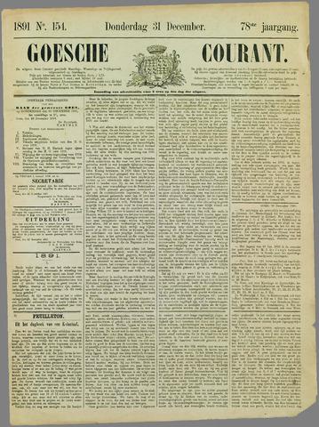 Goessche Courant 1891-12-31
