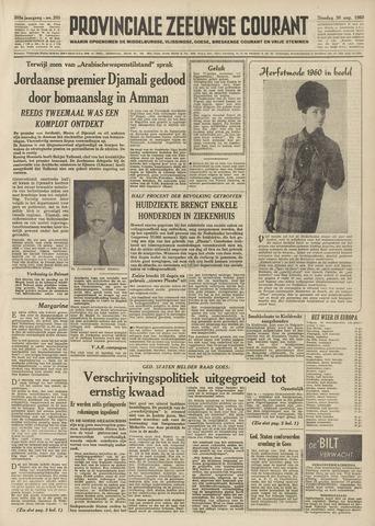 Provinciale Zeeuwse Courant 1960-08-30