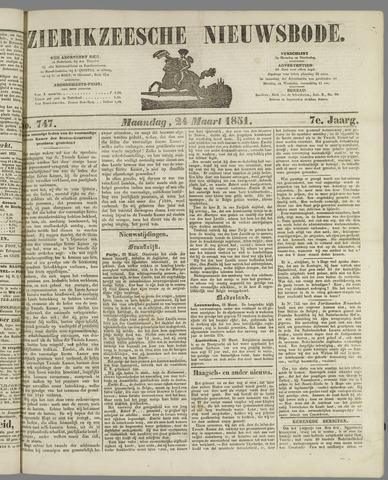Zierikzeesche Nieuwsbode 1851-03-24