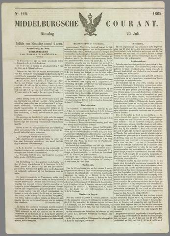 Middelburgsche Courant 1865-07-25